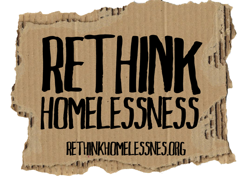 Rethink Homelessness Advocacy Logo