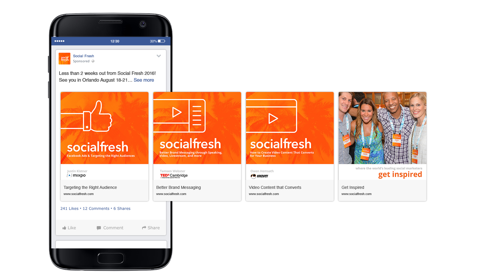 Social media and Facebook Advertisement design and implementation