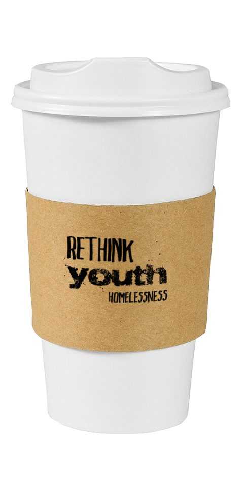 Custom Designed Products for Advocacy Campaign Rethink Homelessness